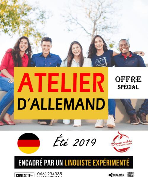 cours d'allemand Rabat Partagios center